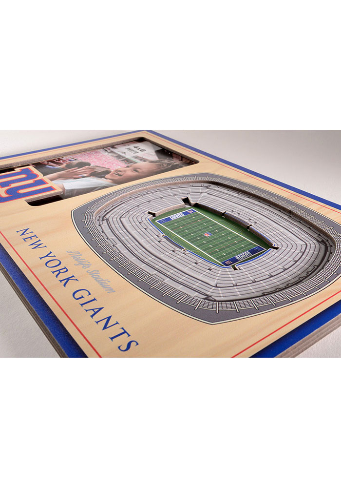 New York Giants Stadium View 4x6 Picture Frame - Image 3
