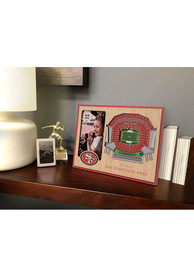 San Francisco 49ers Stadium View 4x6 Picture Frame