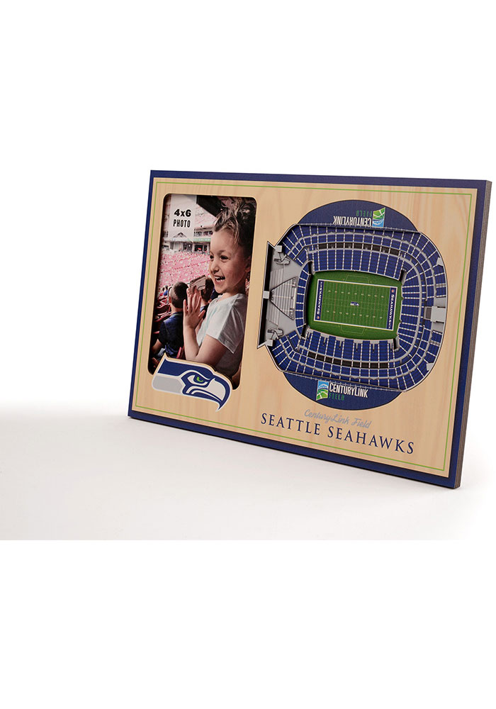 Seattle Seahawks Stadium View 4x6 Picture Frame - Image 2