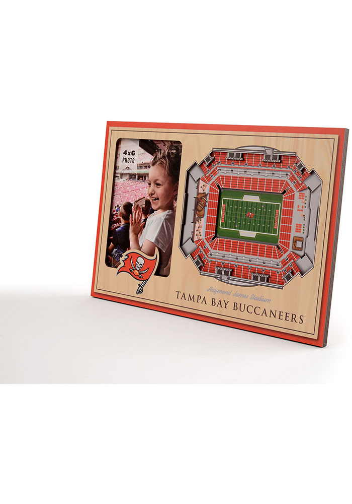 Tampa Bay Buccaneers Stadium View 4x6 Picture Frame - Image 2