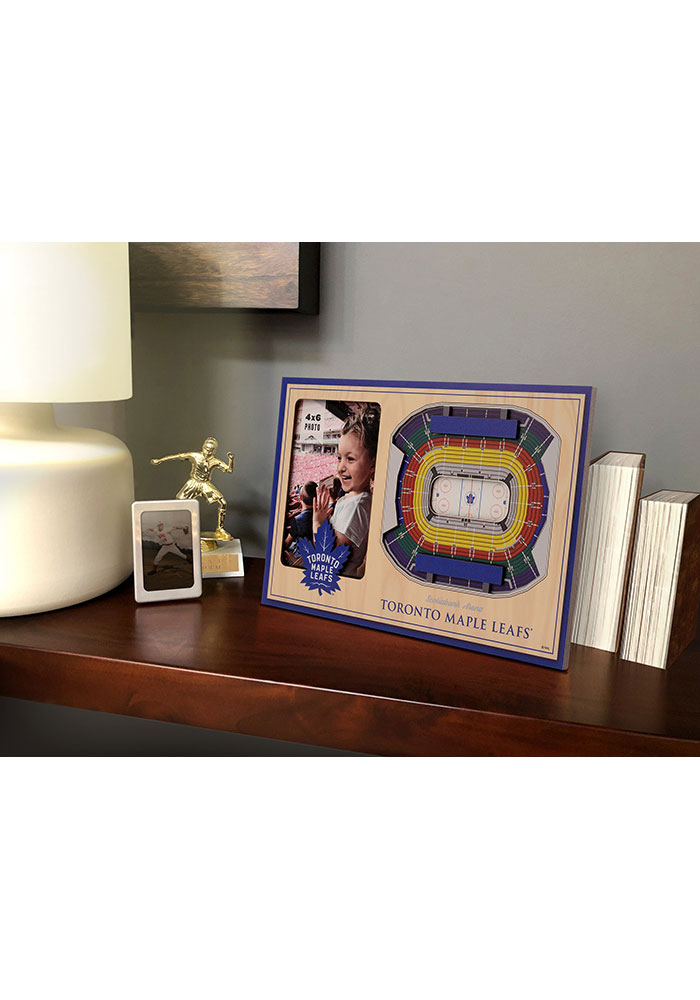 Toronto Maple Leafs Stadium View 4x6 Picture Frame - Image 1