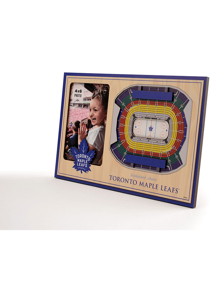 Toronto Maple Leafs Stadium View 4x6 Picture Frame - Image 2