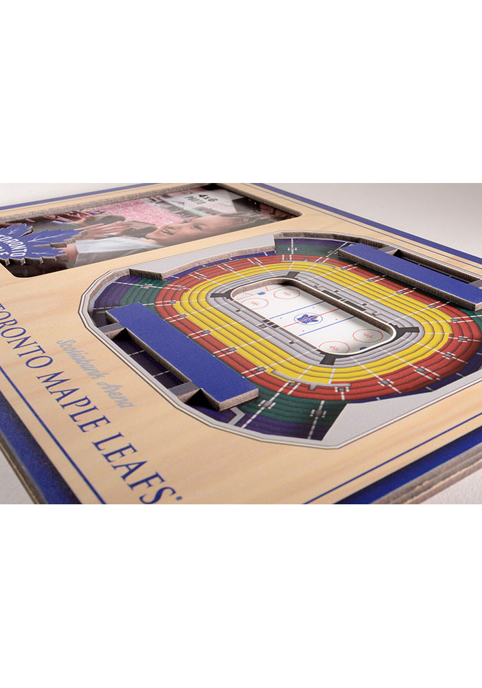 Toronto Maple Leafs Stadium View 4x6 Picture Frame - Image 3