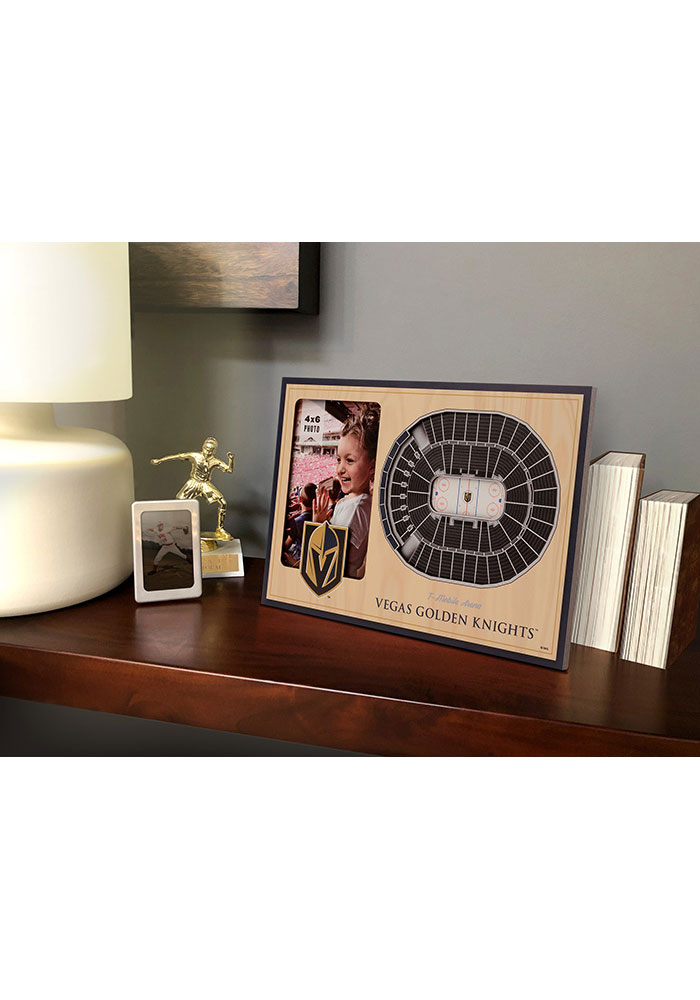 Vegas Golden Knights Stadium View 4x6 Picture Frame - Image 1