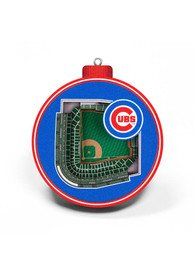 Chicago Cubs 3D Stadium View Ornament