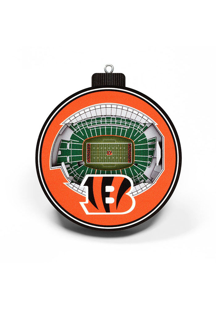 Cincinnati Bengals 3D Stadium View Ornament