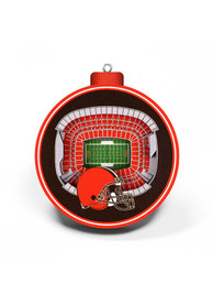 Cleveland Browns 3D Stadium View Ornament