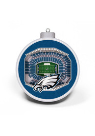 Philadelphia Eagles 3D Stadium View Ornament