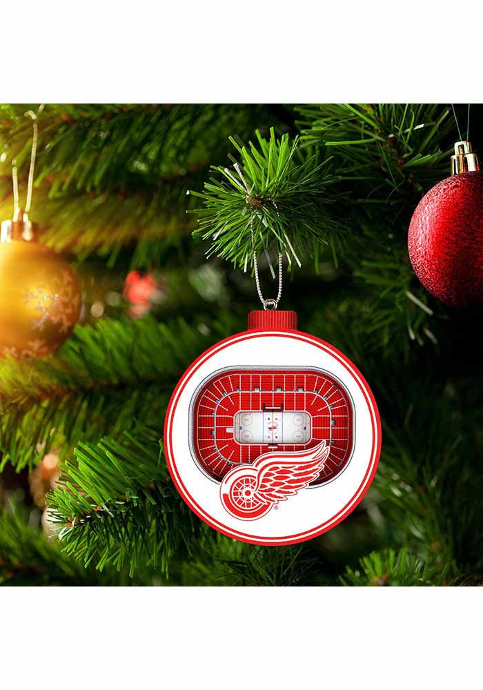 Detroit Red Wings 3D Stadium View Ornament - Image 3