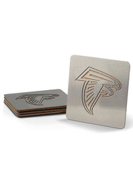 Atlanta Falcons 4 Pack Stainless Steel Boaster Coaster