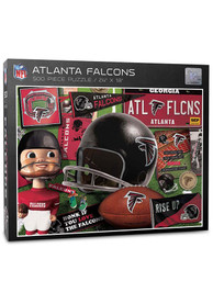 Atlanta Falcons 500 Piece Retro Puzzle