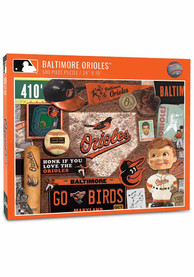 Baltimore Orioles 500 Piece Retro Puzzle