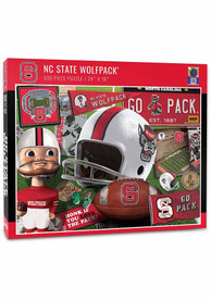 NC State Wolfpack 500 Piece Retro Puzzle