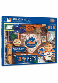 New York Mets 500 Piece Retro Puzzle