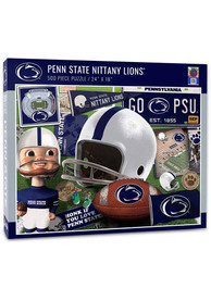 Penn State Nittany Lions 500 Piece Retro Puzzle
