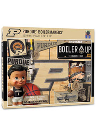 Purdue Boilermakers 500 Piece Retro Puzzle