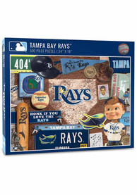 Tampa Bay Rays 500 Piece Retro Puzzle