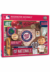 Washington Nationals 500 Piece Retro Puzzle