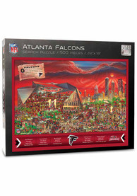Atlanta Falcons 500 Piece Joe Journeyman Puzzle