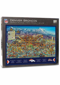 Denver Broncos 500 Piece Joe Journeyman Puzzle