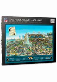 Jacksonville Jaguars 500 Piece Joe Journeyman Puzzle
