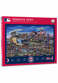 Minnesota Twins 500 Piece Joe Journeyman Puzzle