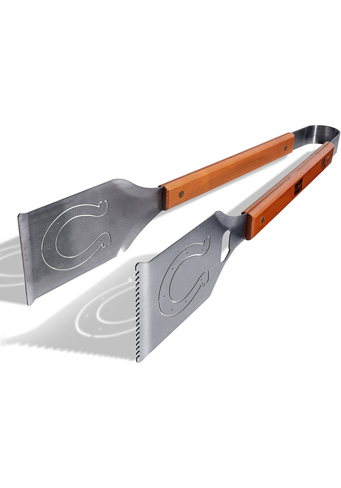 Indianapolis Colts Grill A Tongs BBQ Tool - Image 1