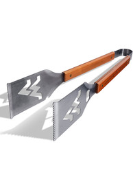 West Virginia Mountaineers Grill A Tongs BBQ Tool