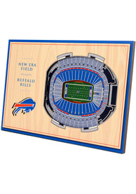 Buffalo Bills 3D Desktop Stadium View White Desk Accessory