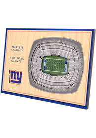 New York Giants 3D Desktop Stadium View Blue Desk Accessory