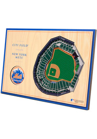 New York Mets 3D Desktop Stadium View Blue Desk Accessory