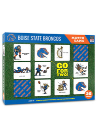 Boise State Broncos Memory Match Game