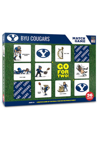 BYU Cougars Memory Match Game