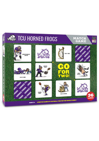 TCU Horned Frogs Memory Match Game
