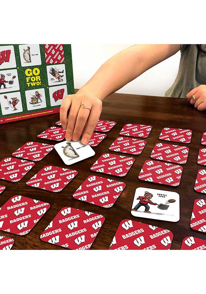 Wisconsin Badgers Memory Match Game - Image 3