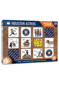 Houston Astros Memory Match Game