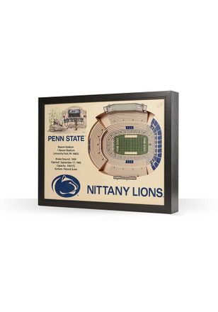Penn State Nittany Lions 3D Stadium View Wall Art