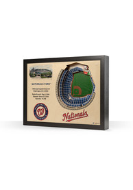 Washington Nationals 3D Stadium View Wall Art