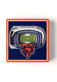 Chicago Bears 3D Stadium View Magnet