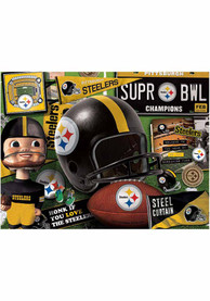 Pittsburgh Steelers Retro Puzzle