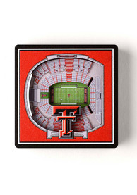 Texas Tech Red Raiders 3D Stadium View Magnet