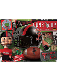 Texas Tech Red Raiders Retro Puzzle