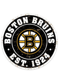 Boston Bruins Vintage Wall Sign