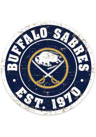 Buffalo Sabres Vintage Wall Sign