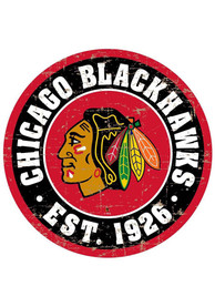 Chicago Blackhawks Vintage Wall Sign