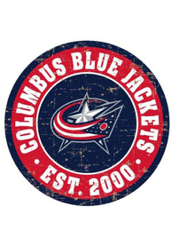 Columbus Blue Jackets Vintage Wall Sign