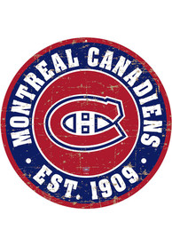 Montreal Canadiens Vintage Wall Sign