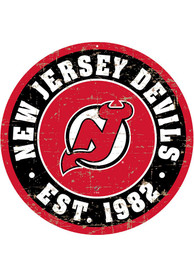 New Jersey Devils Vintage Wall Sign