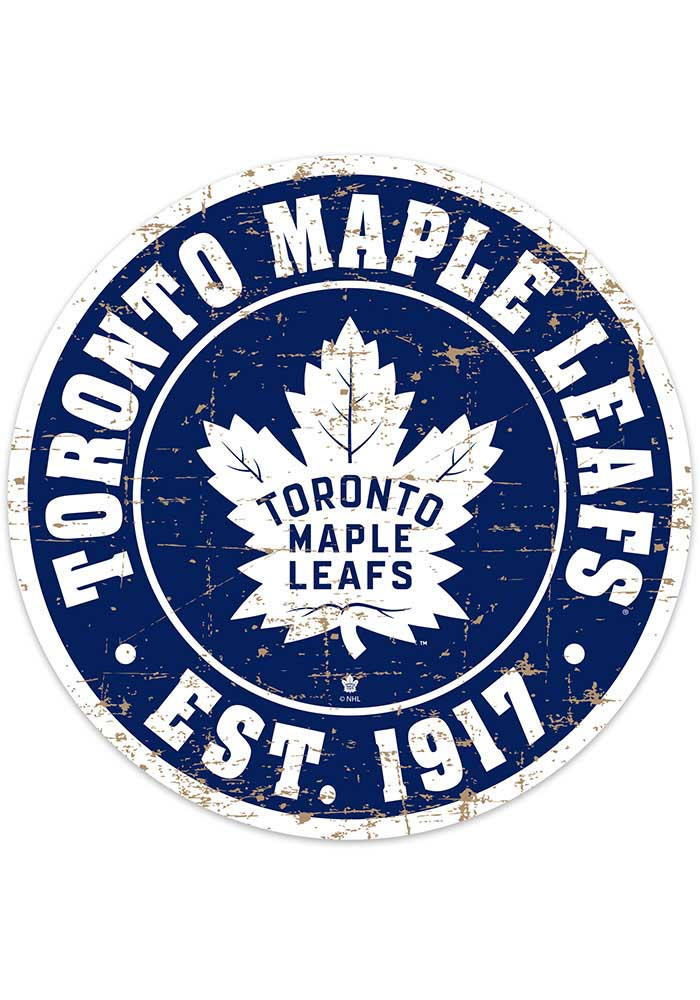 Toronto Maple Leafs Vintage Wall Sign - Image 1