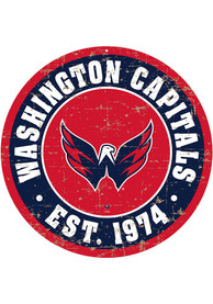Washington Capitals Vintage Wall Sign